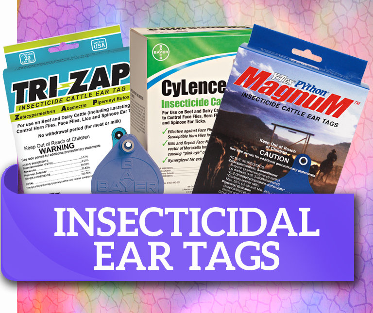 Insecticidal Ear Tags