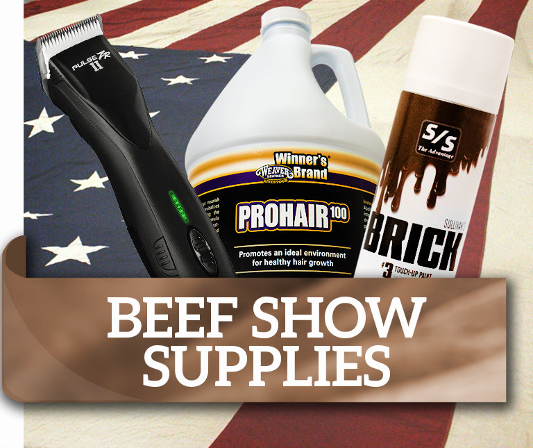 Beef Show Supplies