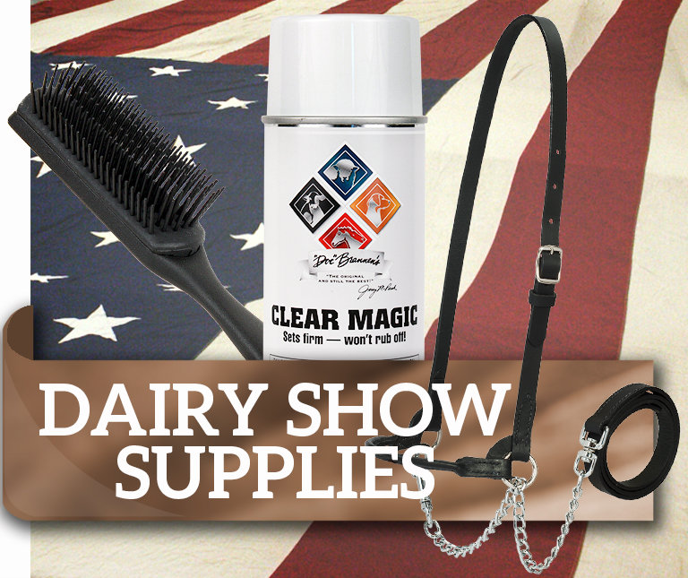 Dairy Show Supplies