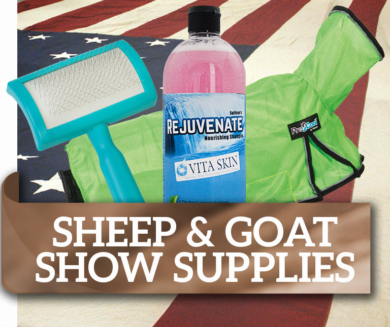 Sheep & Goat Show Supplies