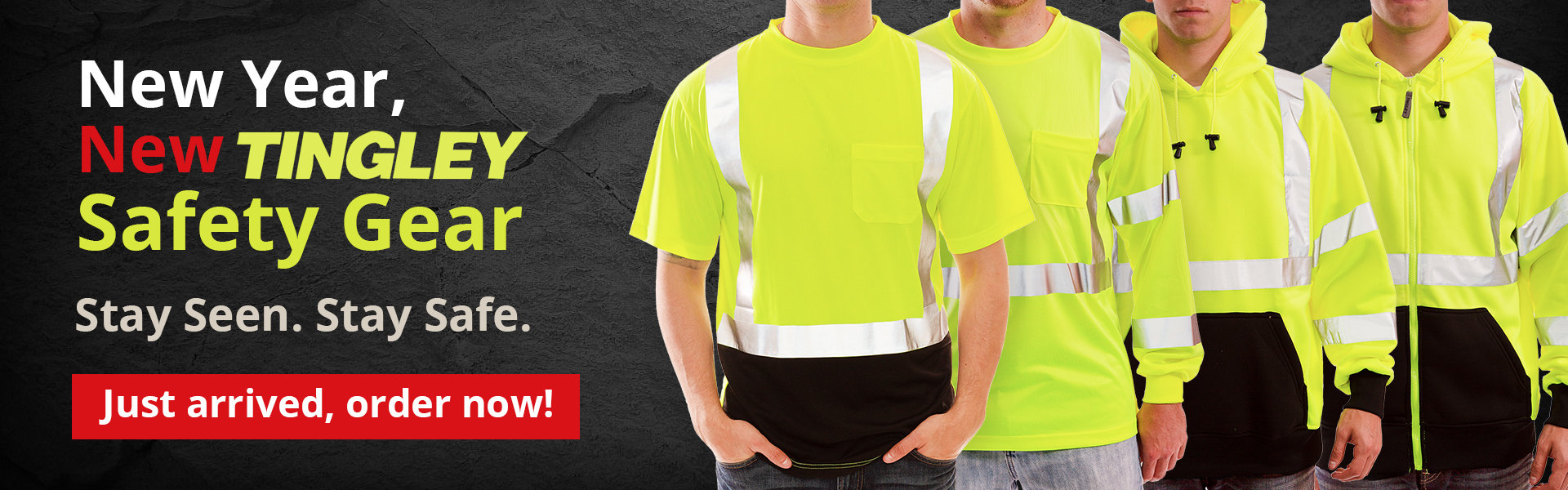 New Tingley Safety Gear
