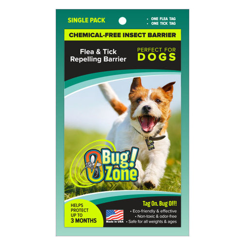 View larger image of 0Bug Zone Chemical-Free Insect Barrier for Dogs