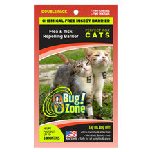 0Bug Zone Flea and Tick Repelling Barrier for Cats