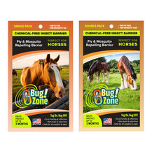0Bug Zone Fly and Mosquito Repelling Barrier for Horses