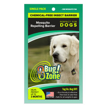 0Bug Zone Mosquito Repelling Barrier for Dogs