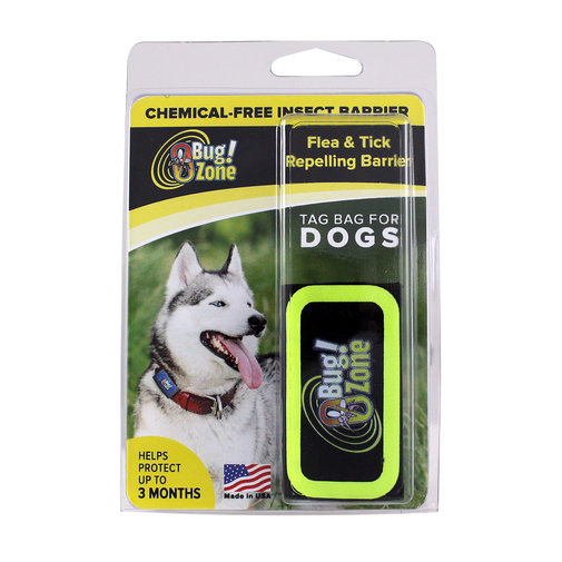 View larger image of 0Bug Zone Tag Bag for Dogs