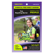 0Bug Zone Tick Repelling Barrier for People
