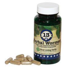 13 Herbal Wormer Capsules for Dogs