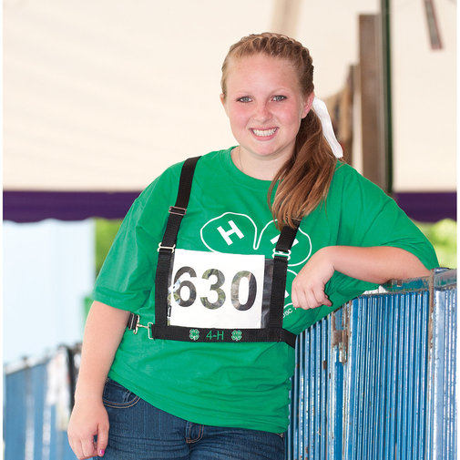 View larger image of 4-H Exhibitor Number Harness