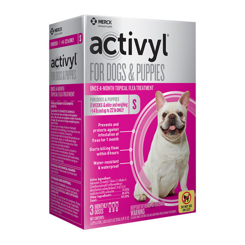 View larger image of Activyl Spot-On for Dogs & Puppies
