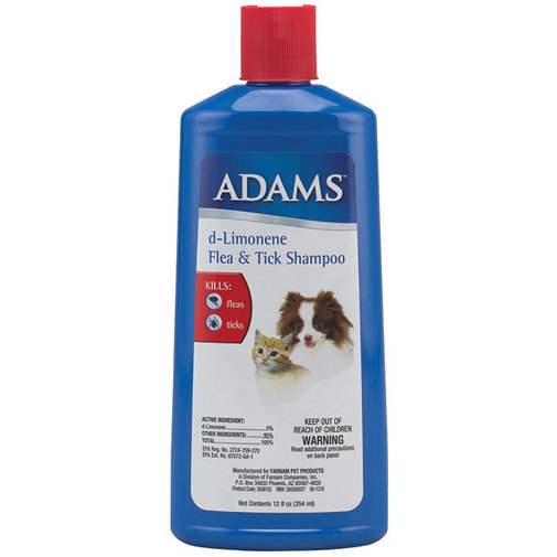 View larger image of Adams D-Limonene Flea and Tick Shampoo