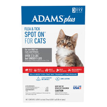 Adams Plus Flea & Tick Spot On for Cats and Kittens