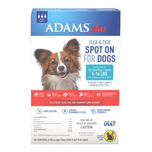 Adams Plus Flea & Tick Spot On for Dogs and Puppies