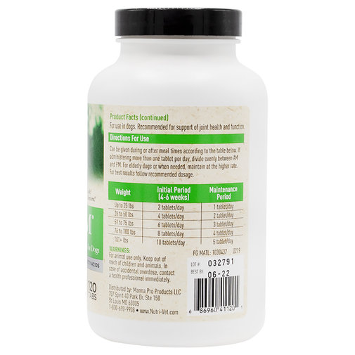 View larger image of Advanced Cetyl M Joint Action Formula for Dogs