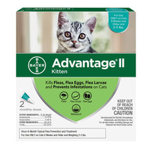 Advantage II Flea Treatment For Cats