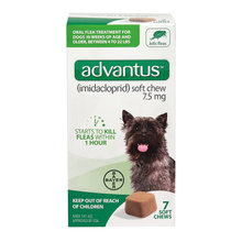 Advantus Flea Treatment Soft Chews for Dogs