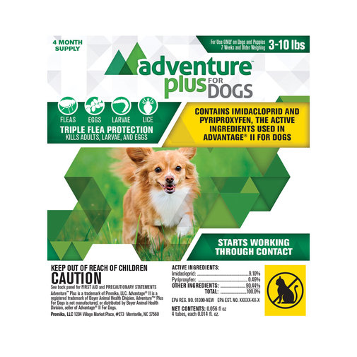 View larger image of Adventure Plus Flea Protection for Dogs