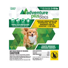 Adventure Plus Flea Protection for Dogs