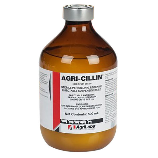 View larger image of Agri-Cillin Penicillin G Procaine Antibiotic