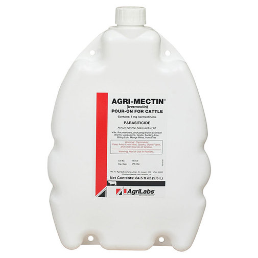 View larger image of Agri-Mectin Cattle Dewormer Pour-On
