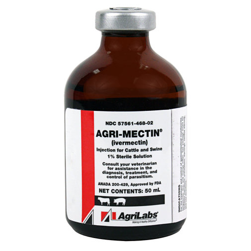 View larger image of Agri-Mectin Cattle and Swine Dewormer Injection