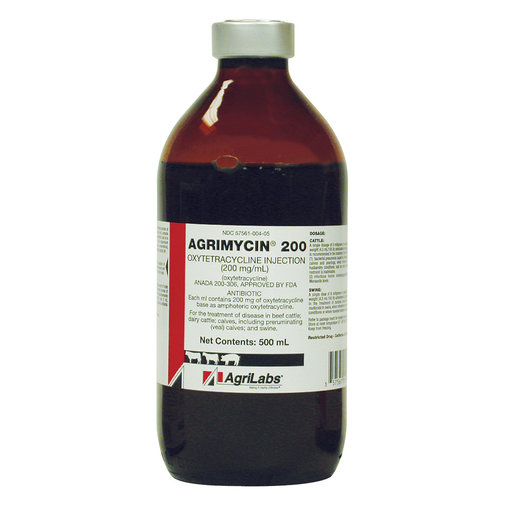 View larger image of Agrimycin 200 Oxytetracycline Injection