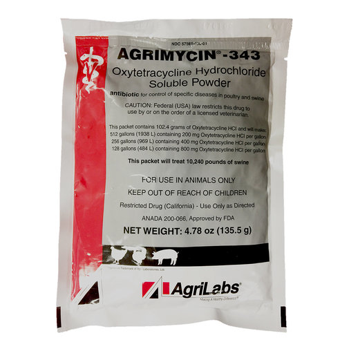 View larger image of Agrimycin 343 Soluble Powder Rx