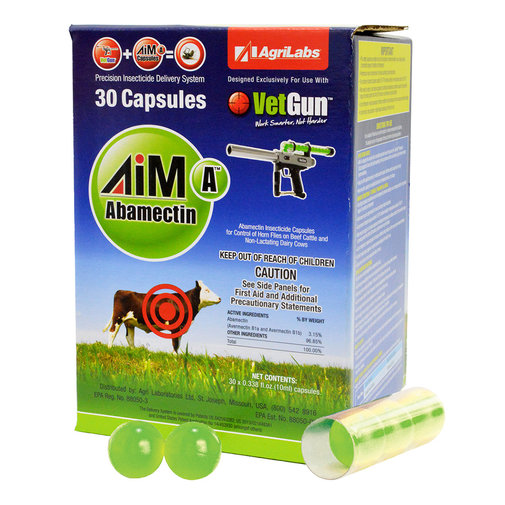 View larger image of AiM-A VetCaps Cattle Insecticide Capsules for VetGun