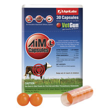 AiM-L VetCaps Cattle Insecticide Capsules for VetGun