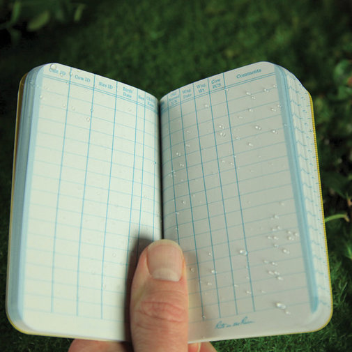 View larger image of All-Weather Beef Calving Record Book