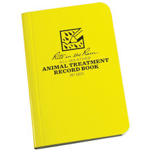 All-Weather Animal Treatment Record Book
