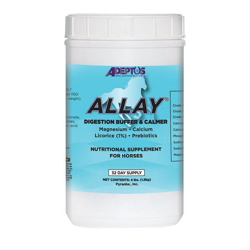 View larger image of Allay Buffering Digestion and Calming Supplement for Horses