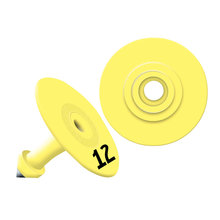 Allflex Global Small Round Numbered Tags
