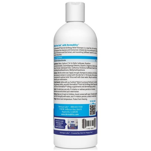 View larger image of Anti-Itch & Allergy Relief Medicated Pet Shampoo