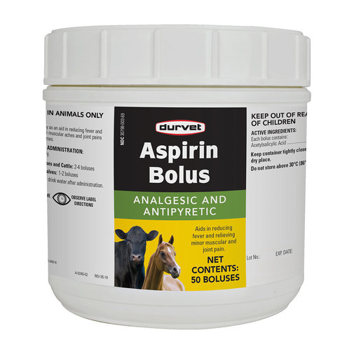 View larger image of Aspirin Bolus for Cattle and Horses