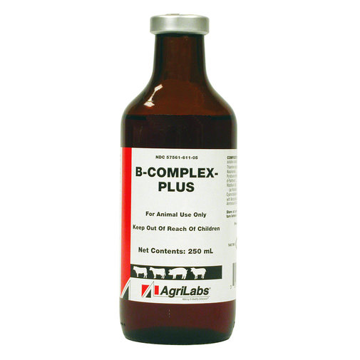 View larger image of B-Complex-Plus Cattle, Swine and Sheep Injectable