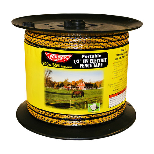 "View larger image of 1/2"" HV Portable Electric Fence Tape"