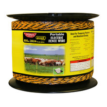 Baygard Portable Electric Fence Wire with Reel