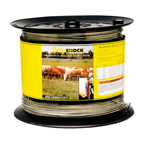View larger image of Bayshock Aluminum Electric Fence Wire