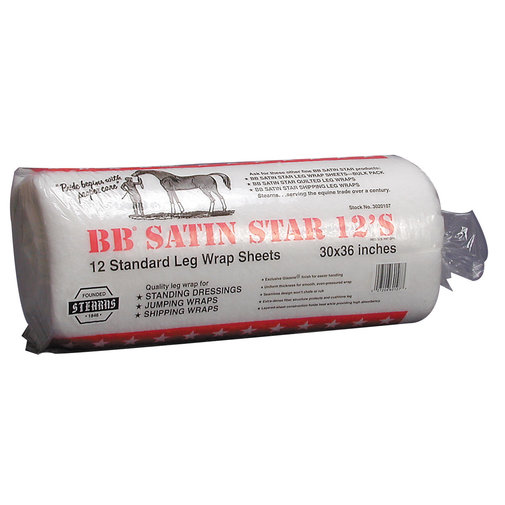 View larger image of BB Satin Star Standard Leg Wrap Sheets