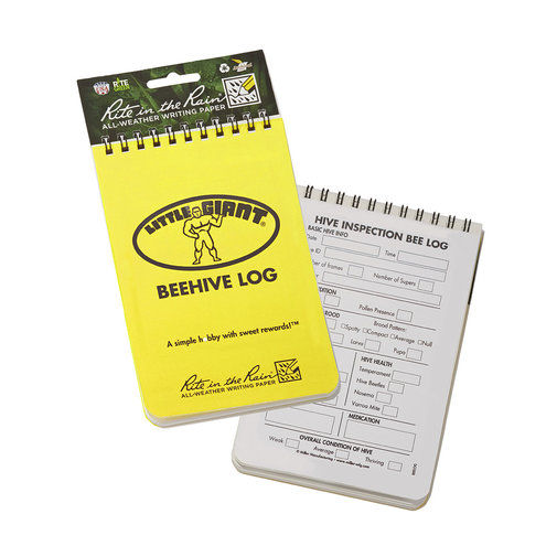 View larger image of Beehive Log Book