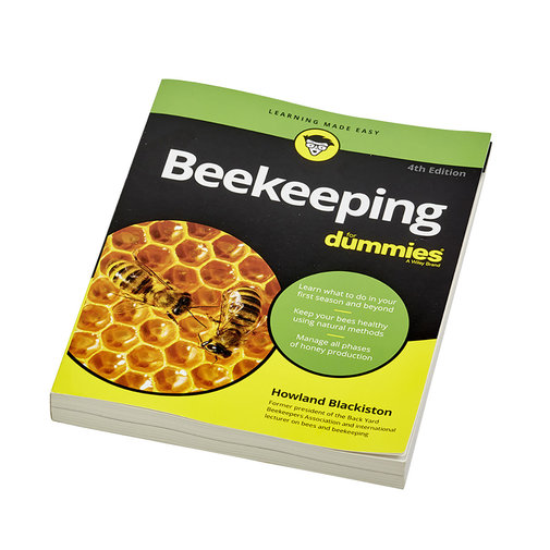 View larger image of Beekeeping for Dummies 3rd Edition Book