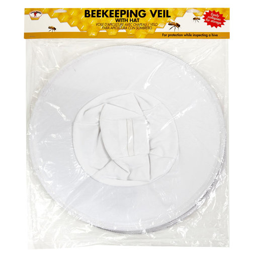 View larger image of Beekeeping Veil with Built-In Hat