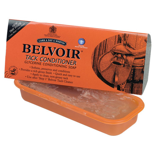View larger image of Belvoir Tack Conditioner Bar Soap Tray