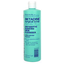 Betadine Antiseptic Skin Cleanser Surgical Scrub