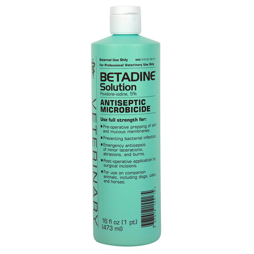 View larger image of Betadine Solution 5% Povidone-Iodine Antiseptic Microbicide