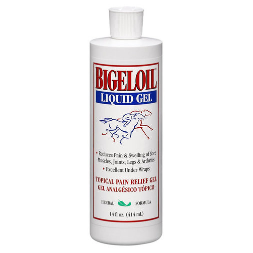 View larger image of Bigeloil Liquid Gel Horse Liniment