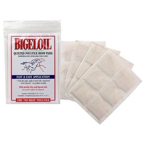 View larger image of Bigeloil Quilted Poultice Hoof Pad