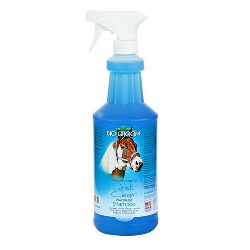 View larger image of Quick Clean Waterless Shampoo for Horses