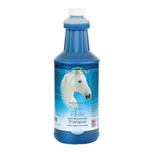 View larger image of Show White Coat Brightener Shampoo for Horses